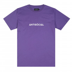 Футболка Antisocial Basic Purple