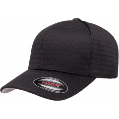 Кепка FlexFit 6777 - Athletic Mesh Black