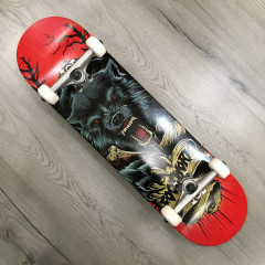 """Скейтборд Footwork 2020 Carbon Wolf Attack 8.0"""""""