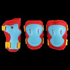 Детский комплект защиты Los Raketos LRС-001 Red/Blue
