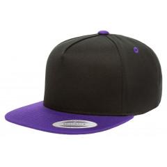 Кепка FlexFit Classic Snapback Black/Purple